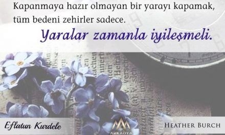 Eflatun Kurdele – Heather Burch