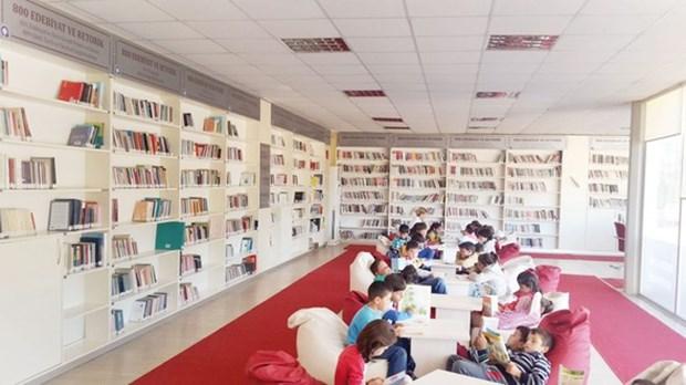 7- Doğan Hızlan Kütüphanesi - Antalya