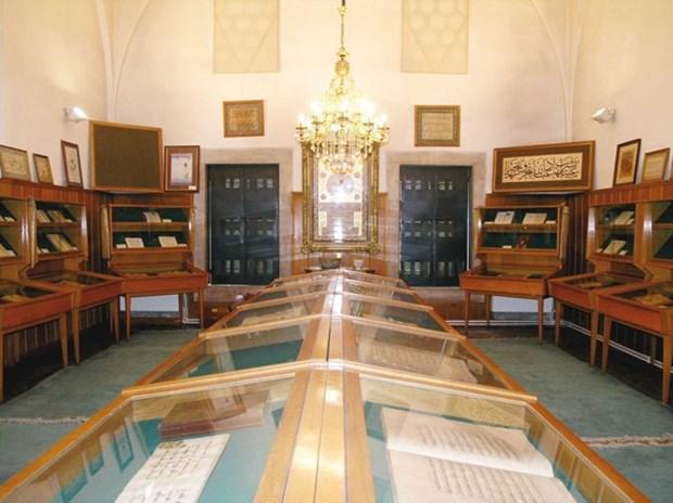 6- Süleymaniye Yazma Eser Kütüphanesi - İstanbul