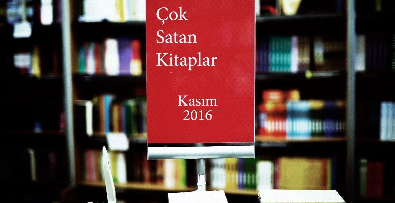Çok Satan Kitaplar – Kasım 2016