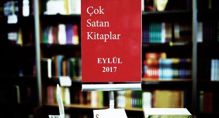 Photo of Çok Satan Kitaplar – Eylül 2017