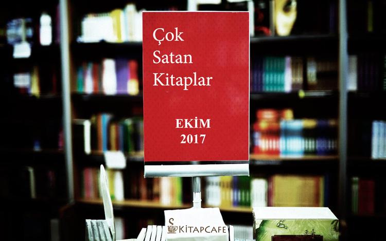 Ekim 2017 - Çok Satan Kitaplar