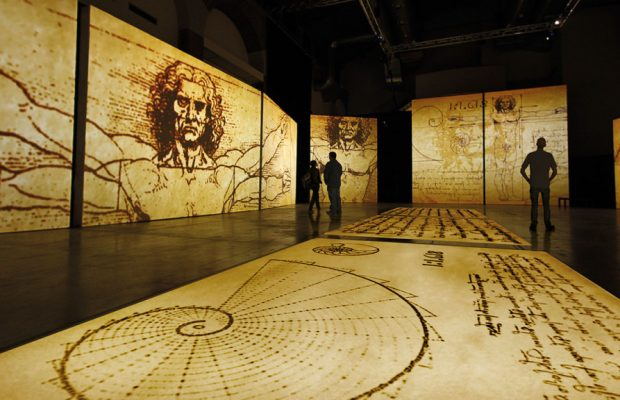 Leonardo Da Vinci sergisi