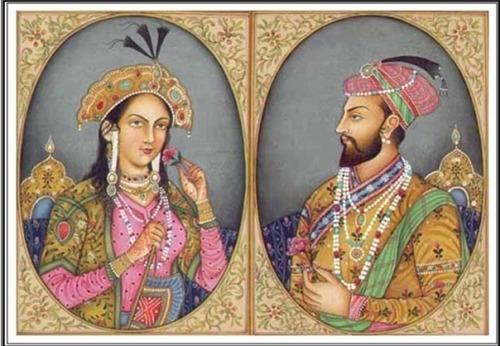 Şah Jahan ve Mümtaz Mahal