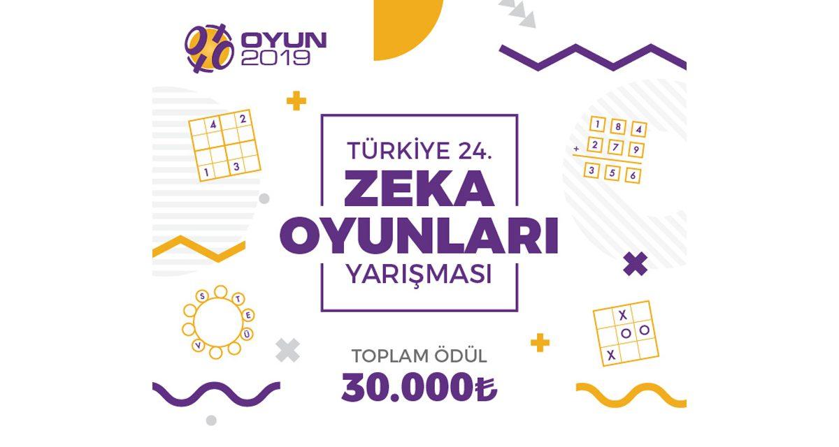 Türkiye 24. Zeka Oyunları Yarışması