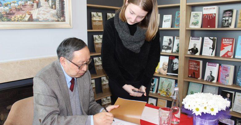 Kitabı 20 dile çevrilen Çinli felsefeci İstanbul'da