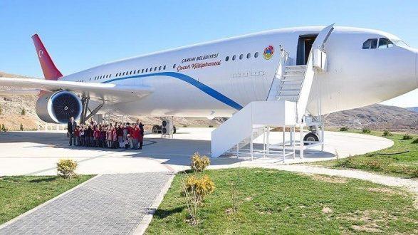 Uçak Kütüphane