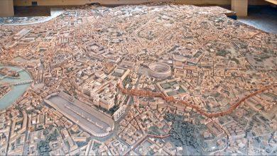 Antik Roma'nın Büyük Ölçekli Modeli Yapılıyor.