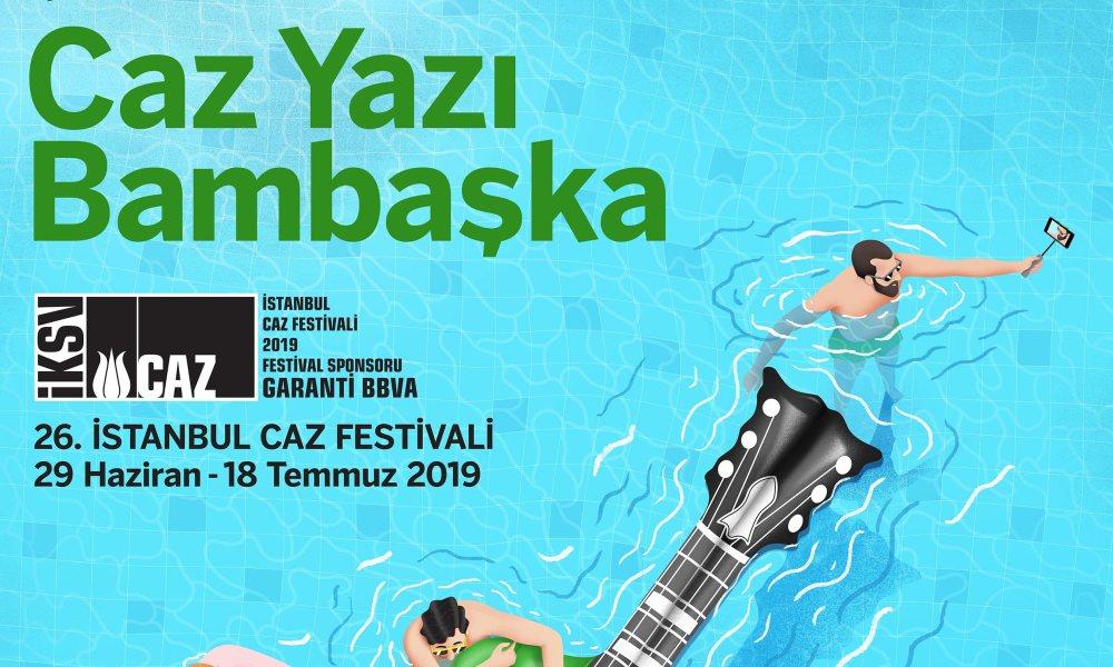 İstanbul Caz Festivali 'Caza dokunan eller' sloganıyla başlıyor