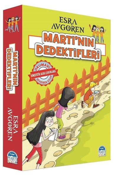 Martı'nın Dedektifleri Seti-5 Kitap Takım